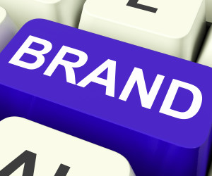 Brand Key Shows Branding Trademark Or Label